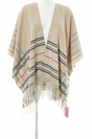 Fraas Poncho Karomuster Business-Look