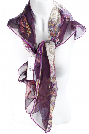Fraas Silk Scarf floral pattern hippie style