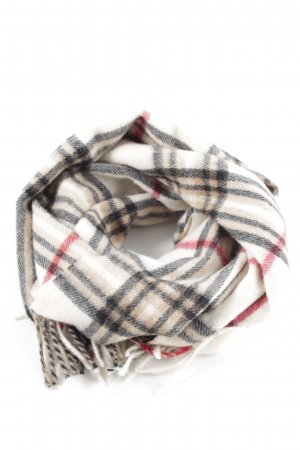 Fraas Woolen Scarf check pattern casual look