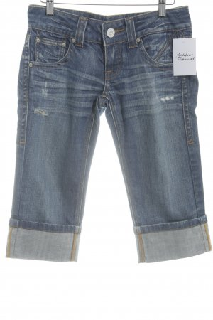 Fracomina Jeans a 3/4 blu scuro stile jeans