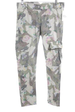 Fracomina Cargo Pants camouflage pattern street-fashion look