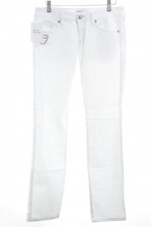 Fracomina Low Rise Jeans white casual look