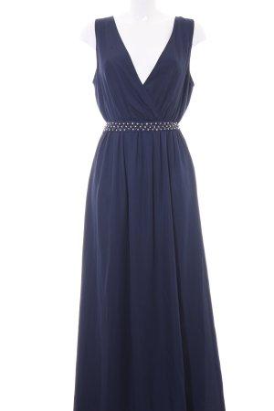 Fracomina Maxi-jurk donkerblauw elegant