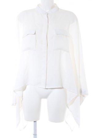 Fracomina Oversized blouse wit casual uitstraling