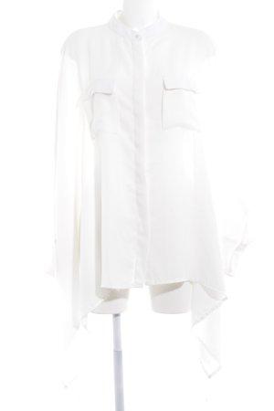 Fracomina Blusa taglie forti bianco stile stravagante