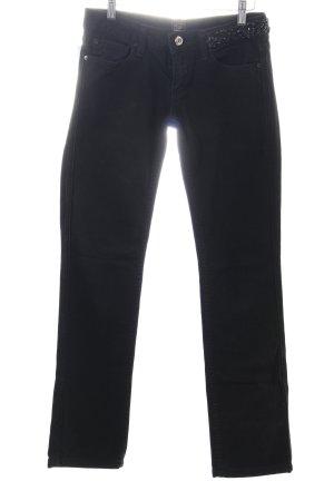 Fracomina Skinny Jeans schwarz Street-Fashion-Look