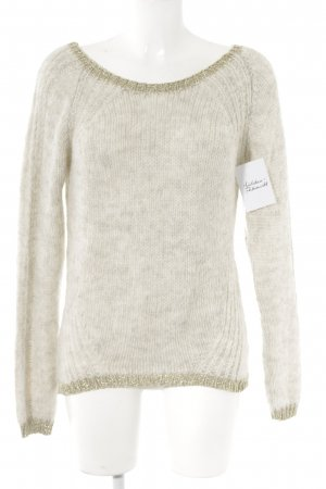 Fracomina Strickpullover wollweiß Casual-Look
