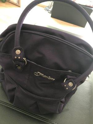 """""""Fräulein """" Tasche in lila"""