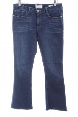 Frame Denim 7/8 Jeans dunkelblau Casual-Look