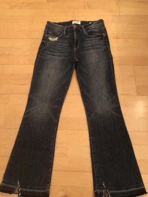Frame Denim Jeans svasati blu