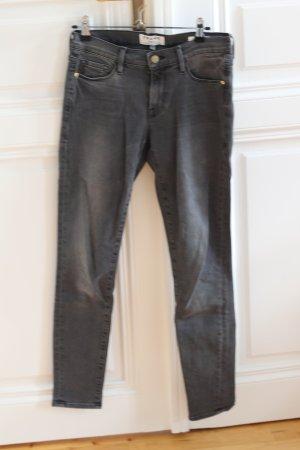 Frame Denim graue Le Skinny de Jeanne Jeans
