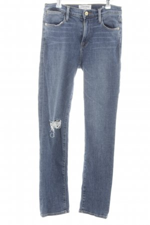 Frame Denim High Waist Jeans blue casual look