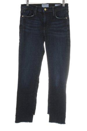 Frame Denim High Waist Jeans dunkelblau Casual-Look