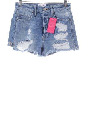 Frame Denim Spijkershort blauw casual uitstraling