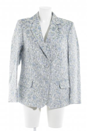Frame Denim Sweat Blazer floral pattern business style