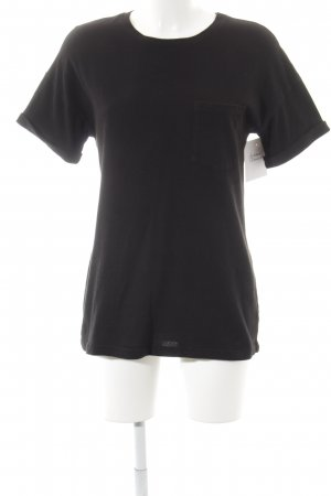 Frame Denim T-Shirt schwarz Casual-Look
