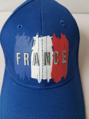 France Frankreich Canterbury Rugby World Cup Cap Basecap Kappe Mütze Cappy Blau