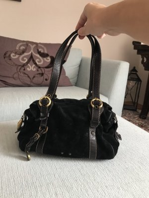 Francesco Biasia Carry Bag black-dark red