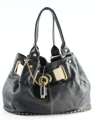 Francesco Biasia Handtasche mehrfarbig Materialmix-Look