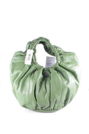 Francesco Biasia Handtasche waldgrün extravaganter Stil