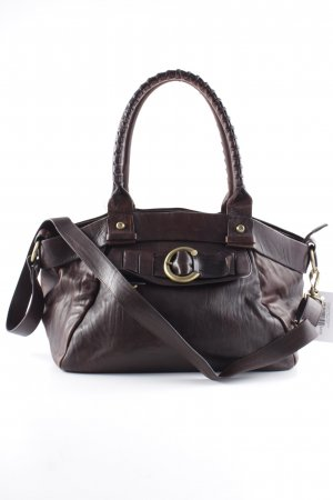 Francesco Biasia Carry Bag dark brown casual look