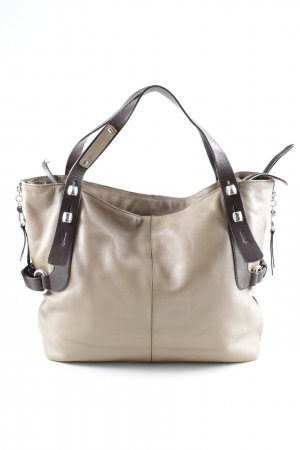 Francesco Biasia Shopper beige-dunkelbraun Casual-Look
