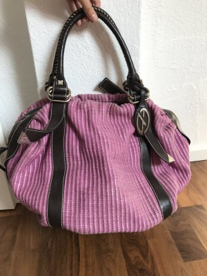 Francesco Biasia Pouch Bag pink-dark brown