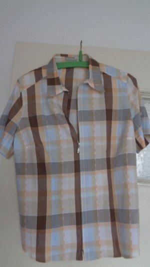 Franco Callegari Cols de blouses marron clair-saumon