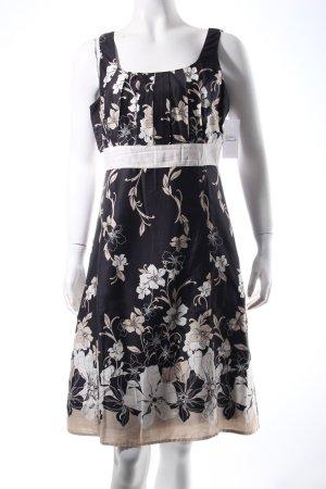 Franco Callegari Kleid florales Muster Romantik-Look