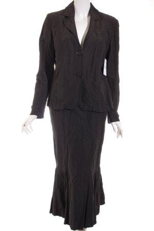 Franco Callegari Kostüm schwarz Elegant