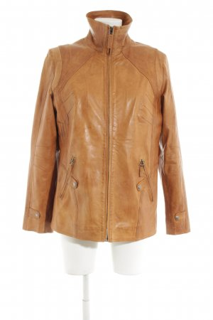Franco Callegari Lederjacke braun Business-Look