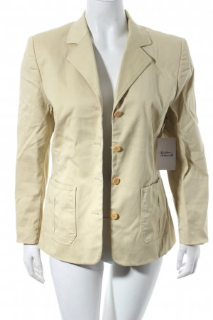 Franco Callegari Long-Blazer beige Casual-Look