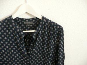 Franco Callegari P&C Bluse, blau-gemustert