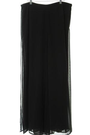Franco Callegari Stoffhose schwarz extravaganter Stil