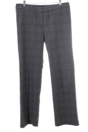 Franco Callegari Pantalon en laine motif à carreaux style décontracté