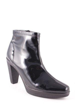 Franco & Co Botines negro estilo extravagante