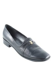 Franco Visconti Schlüpfschuhe schwarz Business-Look