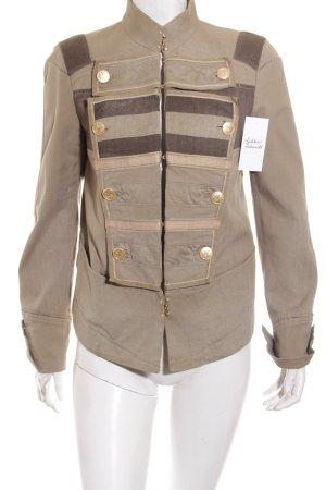 Francois Girbaud Kurzjacke khaki-grüngrau Military-Look