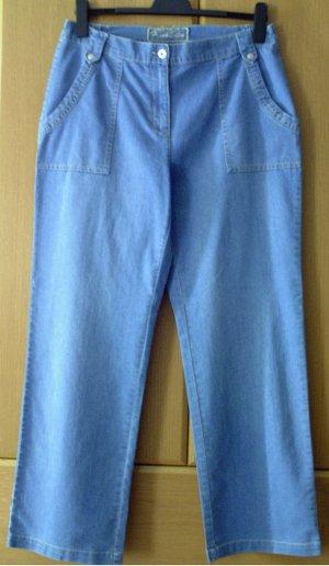 FRANK EDEN - Blaue Damen Jeans Jeanshose Hose blau, Gr. 48