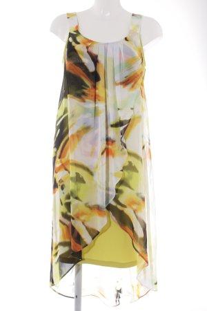 Frank Lyman Vokuhila-Kleid grafisches Muster Beach-Look