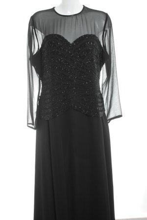 Frank Usher Abendkleid schwarz Elegant