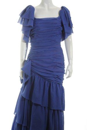 Frank Usher Ball Dress blue-lilac '80s style