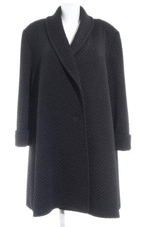 Frank Usher Gewatteerde jas zwart elegant
