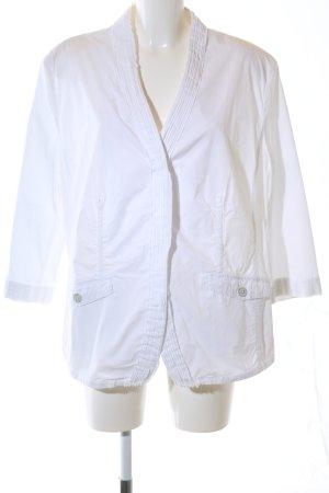 Frank Walder Veste chemisier blanc style classique
