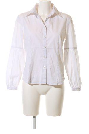 Frank Walder Hemd-Bluse weiß Elegant