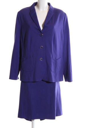 Frank Walder Kostüm blau Business-Look