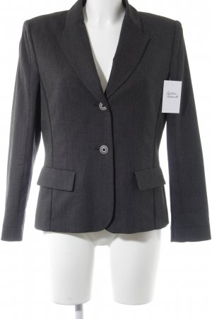 Frank Walder Short Blazer anthracite flecked business style