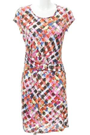 Frank Walder Vestido estilo camisa estampado gráfico look casual