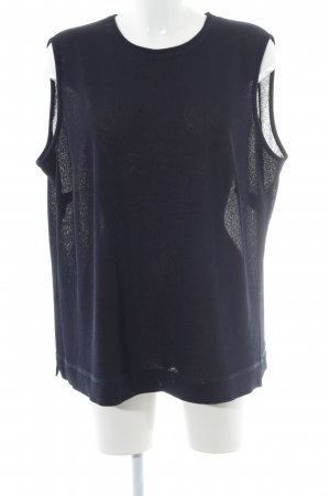 Frankenwälder Knitted Top dark blue casual look