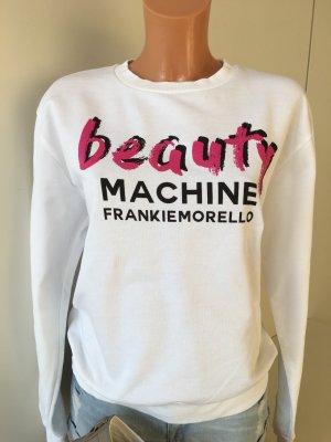Frankie Morello Milan Pullover Oberteil Gr. 38 Weis